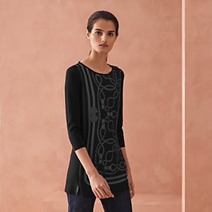 """Cordelieres"" twillaine tunic sweater"