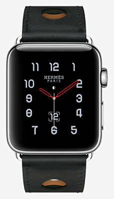 Apple Watch Hermès Series 3 Single Tour 42 mm Rallye -