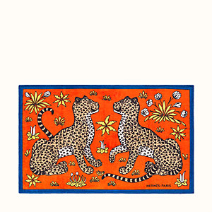 Leopards beach towel