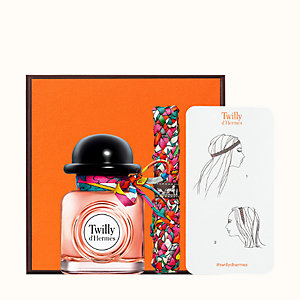 Twilly d'Hermes Eau de parfum and Silk Headband set