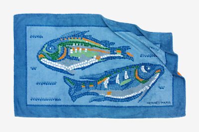 Mosaique beach towel -