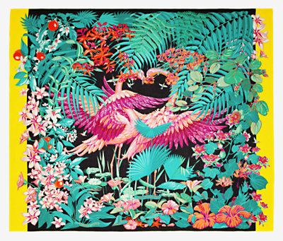 Flamingo Party pareo -