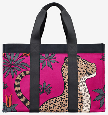 Leopards beach bag -