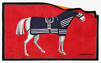 Rocabar a Cheval beach towel -