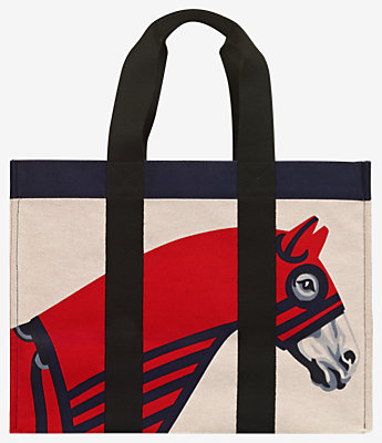 Rocabar a Cheval beach bag -