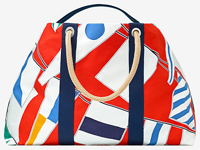 Drapeaux Au Vent beach bag -