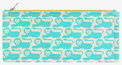 Animaux Pixel pencil case -