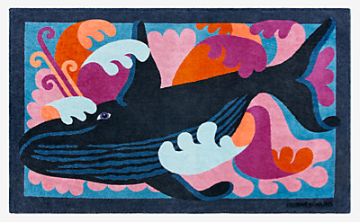 Cetacea beach towel -