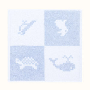 Animaux Pixel wash cloth