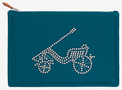 Voiture Petit Duc pouch, medium model -