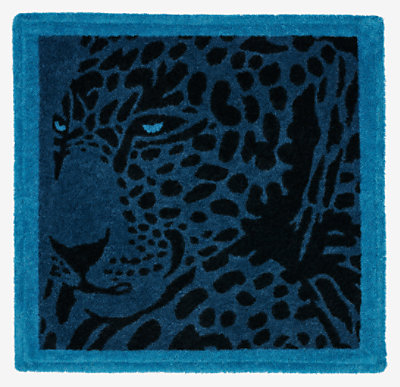 Cheetah square beach towel -