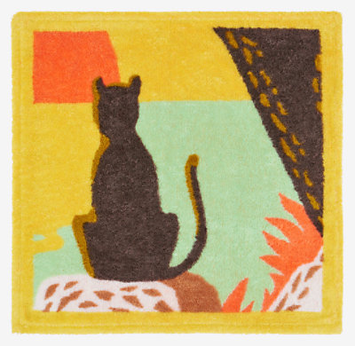 Meditation square beach towel -