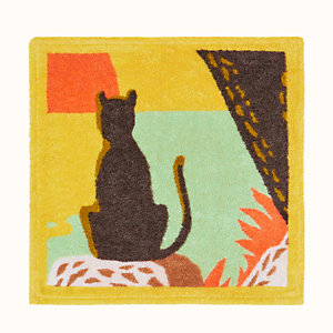 Meditation square beach towel