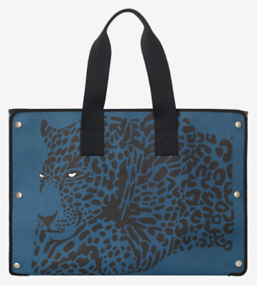 Cheetah beach bag -