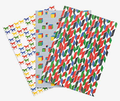 "Set of 3 ""Cavalcolor"" notebooks -"