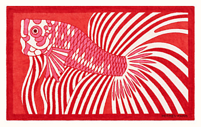 Dancing Fish beach towel