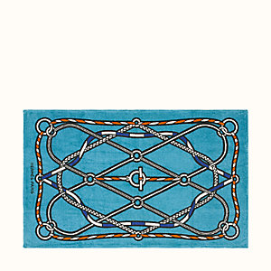 Tressages Marins beach towel
