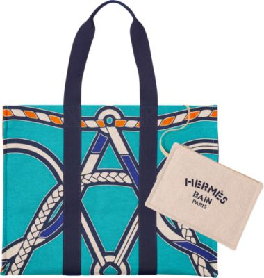 Tressages Marins beach bag