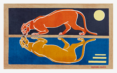 La Lionne beach towel -