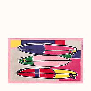3 Surfs beach towel