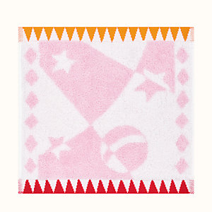 Hermes Circus washcloth