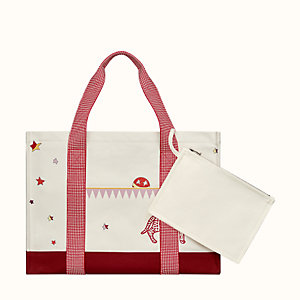 Hermes Circus nappy bag