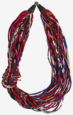 Multistrand necklace -