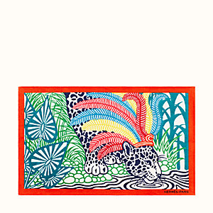 Jaguar Quetzal beach towel