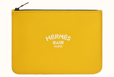 """Hermès Bain"" Jaguar Quetzal Neobain case, medium model"