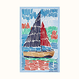 Voile sur Galilee beach towel