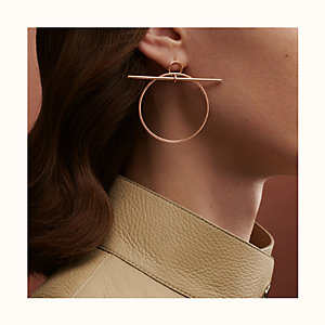 Loop earrings, medium model