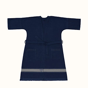 Yachting beach robe, long version