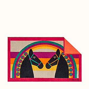 Rainbow Love beach towel