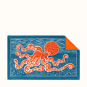 Poulpe Fiction beach towel