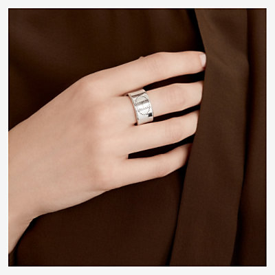 Eclipse Ruban ring, large model -
