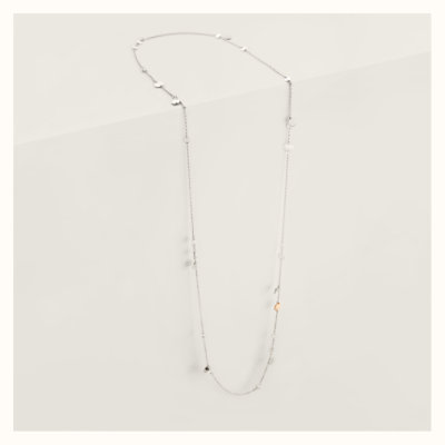 Confettis long necklace