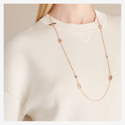 Farandole long necklace, small model -