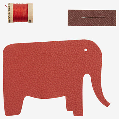 Elephant sew-on patch -