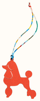Royal poodle charm