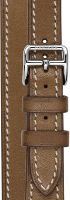 Heure H Watch Strap Double Tour, 21 x 21 mm, long