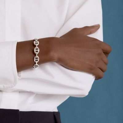 Chaine d'Ancre Enchainee bracelet, medium model
