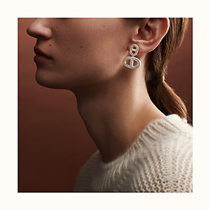 Chaine d'Ancre 24 earrings, large model