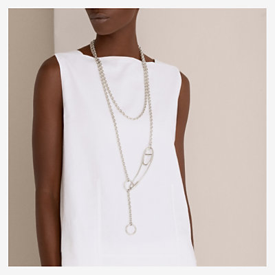Chaine d'Ancre Punk long necklace -