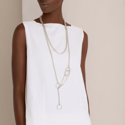Chaine d'Ancre Punk long necklace