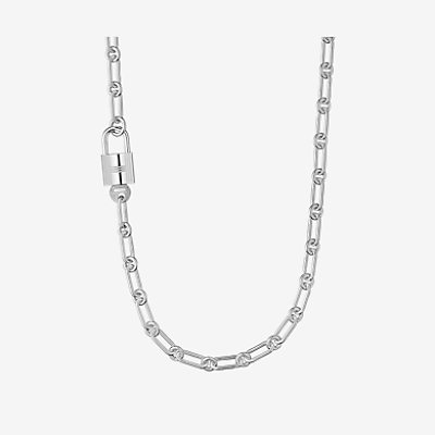Alphakelly long necklace, large model -