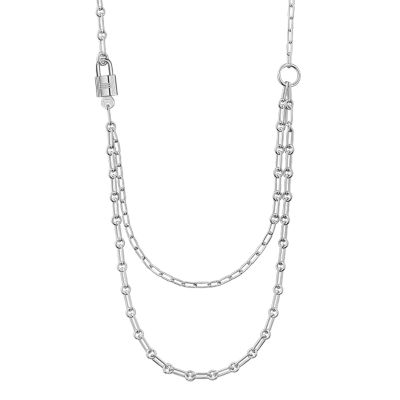 Alphakelly long necklace, medium model