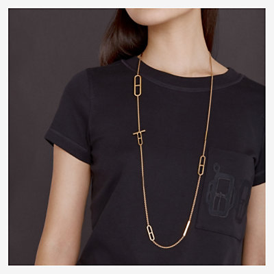 Ever Chaine d'Ancre long necklace, small model -