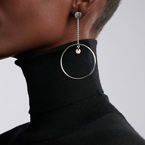 Hermes Ex-Libris earrings