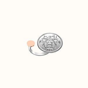 Hermes Ex-Libris ring, medium model