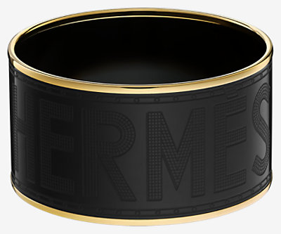Hermes Sellier bangle -